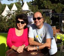Corinne Lepage et Serge Orru