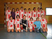 1. Mannschaftsfoto Juniorinnen B