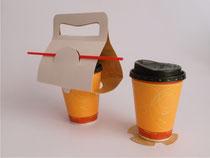 Empaques y cajas de cartón para cafeterías y restaurante