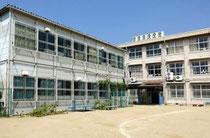 青陽西仮設校舎