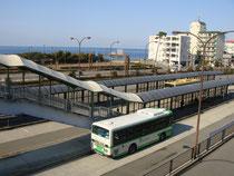 JR舞子駅よりバス停へ