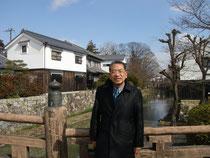平野章三…近江八幡