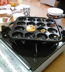 食べ尽くされた実験たこ焼き