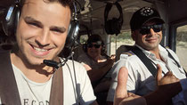 Mein erster Flug als Co Pilot. Über Fraser Islands.