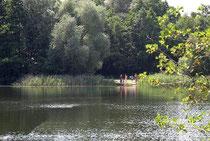Badestelle beim Rosenwaldhof, nur 5 Fußminuten