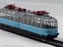 """Märklin 37580 - Aussichtstriebwagen BR 491 DB - """"Gläserner Zug"""""""