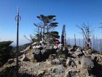 八経ケ岳山頂