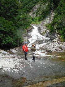黒沢、ハナゲの滝