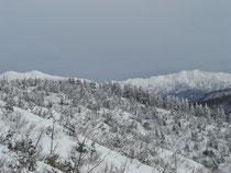 護摩堂(5)左が白山、右が別山