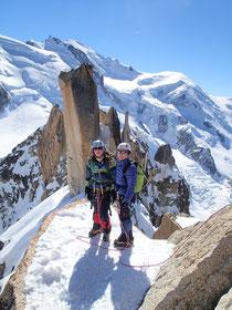 Cosmiques, Mt-Blanc, Thibaut et Nadine