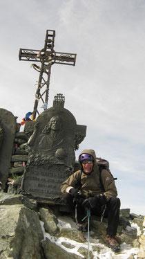 Renzo au sommet du Mont Viso. Bravo!