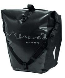 Praktische Flyer-Tasche Skyline für Ausflug und Reise