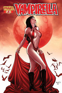 Vampirella #8 cover by Paul Renaud.