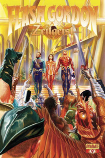 Cover art by Alex Ross.