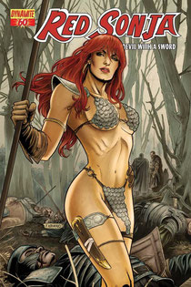 Red Sonja #60 variant cover by Fabiano Neves