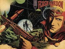 Flash Gordon: Zeitgeist #1 wraparound cover by Francesco Francavilla