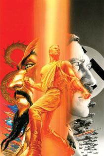 Flash Gordon: Zeitgeist #1 variant cover by Alex Ross.
