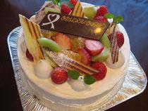 お祝いケーキ¥3500