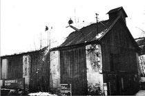 Gerätehaus von 1920 - 1954