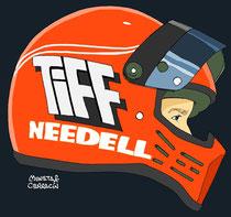 Tiff Needell by Muneta & Cerracín