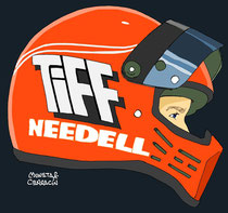 Tiff Needell by Muneta & Cerracín