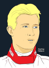 Ryan Briscoe by Muneta & Cerracín
