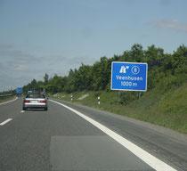 42 Ausfahrtsschild/Exit