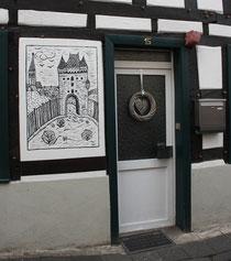 13 Tür in Ahrweiler/Door in Ahrweiler