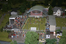 72 Fußballplatz/Football pitch