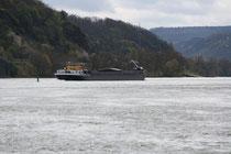 88 Der Fluss Rhein/The river Rhein