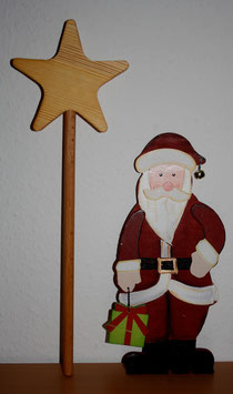 26 Weihnachtsmann+Zauberstab/Santa+Magic wand