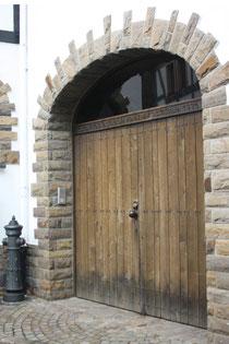 5 Tür eines Hauses/Door of a house in Ahrweiler