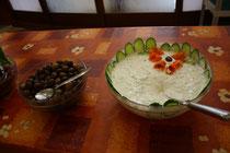 4 Das Essen in Hotels in Griechenland/The food in hotels in Greece