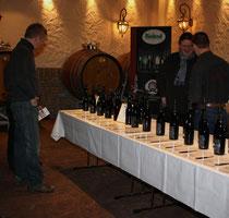 45 Weinpräsentation/Wine presentation