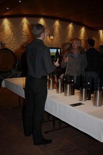 63 Weinpräsentation/Wine presentation
