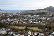 61 Ahrweiler von oben/Ahrweiler from above