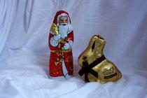 27 Weihnachtsmann+Osterhase/Santa+Easter bunny