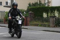 44 Motorradfahrer/Biker
