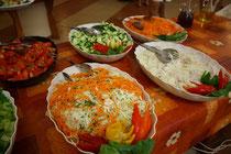 3 Das Essen in Hotels in Griechenland/The food in hotels in Greece