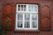 21 Fenster eines Hauses/Window of a house