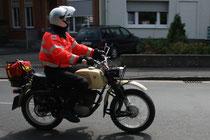 18 Motorradfahrer/Biker