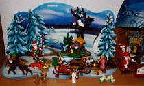 14  Playmobil Weihnachtslandschaft/Playmobil Christmas landscape