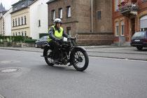 46 Motorradfahrer/Biker