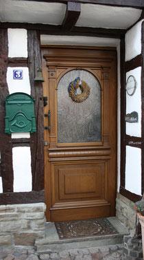 15 Tür in Ahrweiler/Door in Ahrweiler
