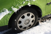 53 vereister Reifen/Frosted tyre