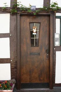 8 Tür in Ahrweiler/Door in Ahrweiler