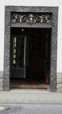 17 Tür vom Restaurant/Door of a restaurant