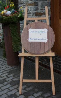 5 Weinpräsentation/Wine presentation