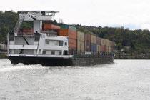 89 Schiff im Rhein/Ship in river Rhein