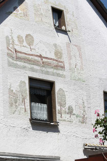 14 Wandbemalung/Mural